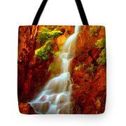 Red River Falls  Tote Bag