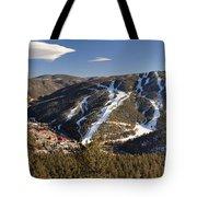 Red River In Spring Tote Bag