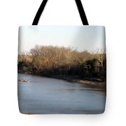 Red River Looking East Tote Bag
