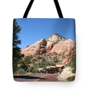 Red Road Zion Park Tote Bag