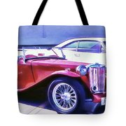 Red Roadster Tote Bag