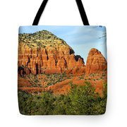 Red Rock Butte Tote Bag
