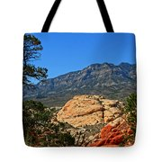 Red Rock Canyon 4 Tote Bag