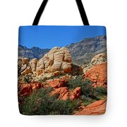 Red Rock Canyon 5 Tote Bag
