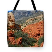 Red Rock Canyon 6 Tote Bag