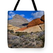 Red Rock Canyon Nevada Tote Bag