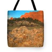 Red Rock Caps Tote Bag
