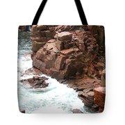 Red Rock Coast Maine Tote Bag