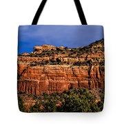 Red Rock Crag Tote Bag