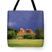 Red Rock Crossing Park Tote Bag