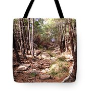Red Rock Pine Forest Tote Bag