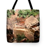 Red Rock Reflection I Tote Bag