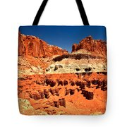 Red Rock Ridges Tote Bag