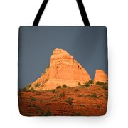 Red Rock Rising Tote Bag