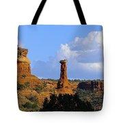 Red Rock Secret Mountain Tote Bag