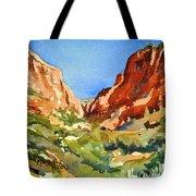 Red Rock Summer Tote Bag