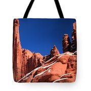 Red Rock Towers Tote Bag