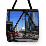Red Rocket 10 Tote Bag