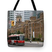 Red Rocket 36 Tote Bag