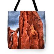Red Rocks Against Blue Skies Tote Bag
