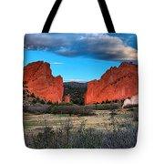 Red Rocks At Sunrise Tote Bag