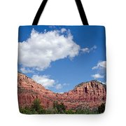 Red Rocks In Sedona Arizona Tote Bag