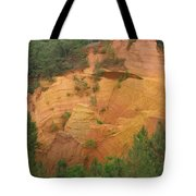 Red Rocks Of Roussillon Tote Bag