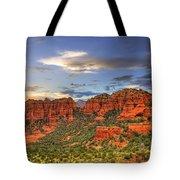 Red Rocks Sunset Tote Bag