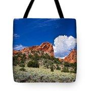Red Rocks In Colorado Tote Bag