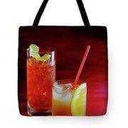 Red Rocktails Tote Bag