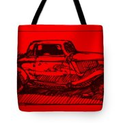 Red Rod Tote Bag