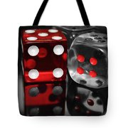 Red Rollers Tote Bag by Shane Bechler