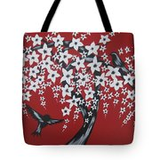 Red Romance Tote Bag