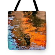 Red Roof Tile Reflection 29412 Tote Bag