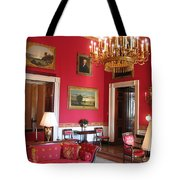 Red Room White House Tote Bag