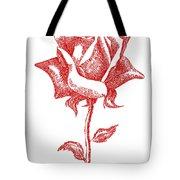Red Rose Art 1 Tote Bag