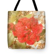 Red Rose At Noon Tote Bag