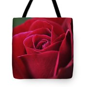 Red Rose Close 1 Tote Bag by Roger Snyder