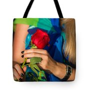 Red Rose - Featured 3 Tote Bag