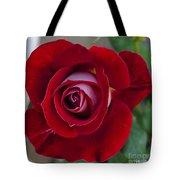 Red Rose Flower Tote Bag