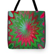 Red Rose Gone Awry Tote Bag