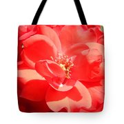 Red Rose In Full Bloom Tote Bag