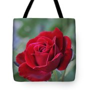 Red Rose Light Tote Bag