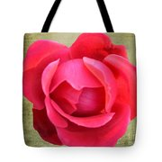Red Rose Of Love Tote Bag