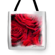Red Roses. Elegant Knickknacks Tote Bag