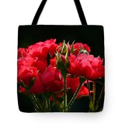Red Roses Tote Bag