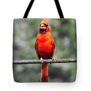 Red Royalty Tote Bag