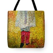 Red Rubber Boots Tote Bag
