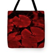 Red Ruby Tuesday Tote Bag