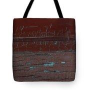 Red Rune Rubrics Tote Bag